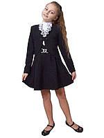 Жакет школьный для девочки м-1051 рост 128-158, фото 1
