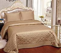 Однотонное покрывало на двуспальную кровать  Arya 250Х260 Adreanna