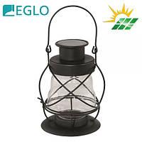 """Стальной садово-парковый светильник """"Корабельный фонарь"""" Eglo LED Solar на солнечной батарее, IP44"""