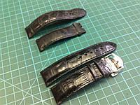 Ремешок для часов MONTBLANC из теленка с принтом крокодила