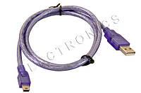 Кабель USB (папа) - mini USB (папа)
