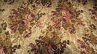 Гобелен K-11 роза золото обивочная мебельная ткань Турция (вит)