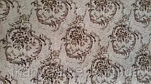 Гобелен K-14 вензель білий оббивна меблева тканина Туреччина (віт)