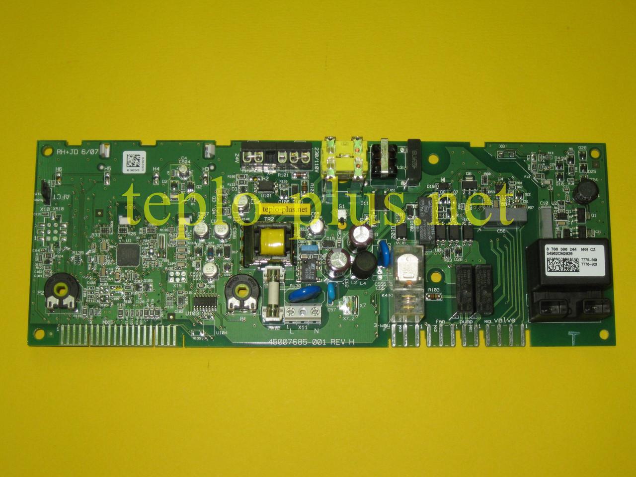 Плата управления 8708300244 (8708300210) Junkers, Bosch Ceraclass ZW24 / 28 / 30-2 DH