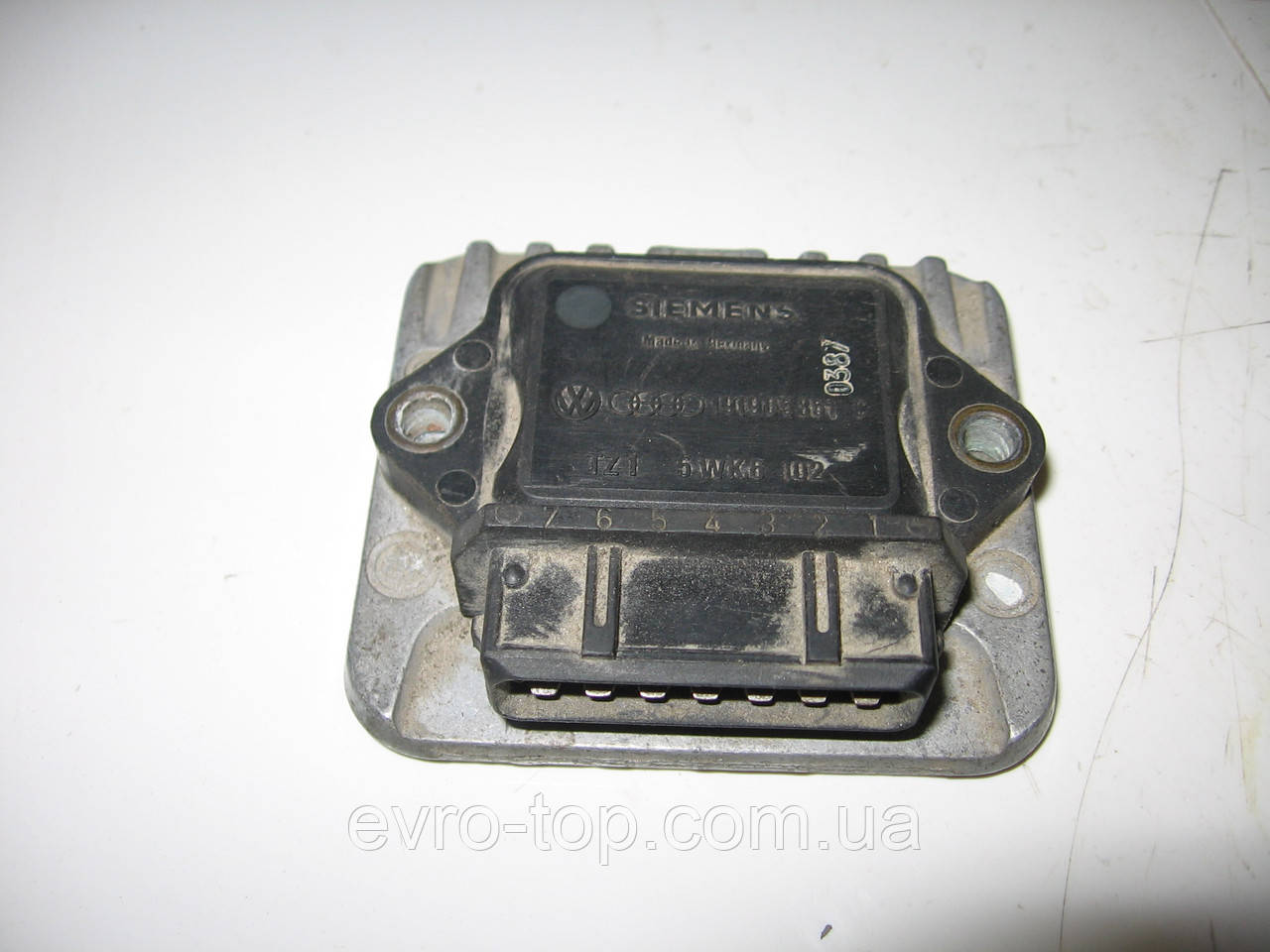 Блок управления системой зажигания (комутатор) 191905351C на VW: Caddy, Golf 2, Jetta 2, Passat, Polo, T3