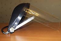 Щиток защитный НБТ 1 с креплением на каску пласт. козырек