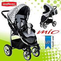 Adbor MIО special edition прогулочная коляска. Цвет:серый в горошек