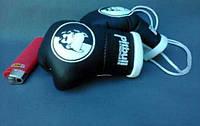 Мини боксерские перчатки PITBULL SYNDICATE Black, подарок, сувенир, брелок