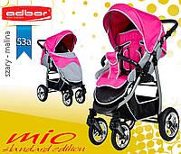 Adbor MIО special edition прогулочная коляска с надувными колёсами. Цвет:розовая
