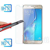Защитное стекло для экрана Samsung Galaxy J7-2016 (j710) твердость 9H, 2.5D (tempered glass)