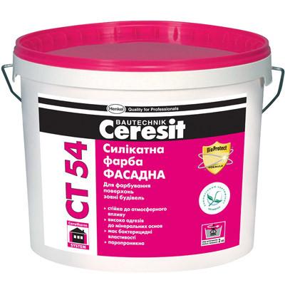 СТ 54 (СТ 54) Ceresit краска силикатная (база) 10 л