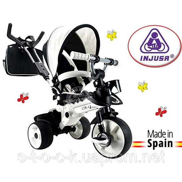 Трехколесный велосипед-коляска CITY MAX INJUSA. Испания, для детей от 6 мес