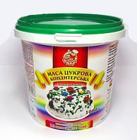 Кондитерская масса (мастика) цветная сахарная 1 кг.
