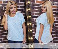 Женская футболка большого размеры РF №554