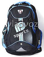 Школьный рюкзак sport DFW синий с чёрным