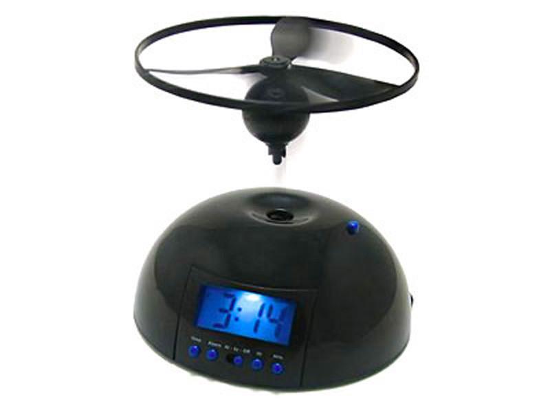 Летающий будильник с пропеллером