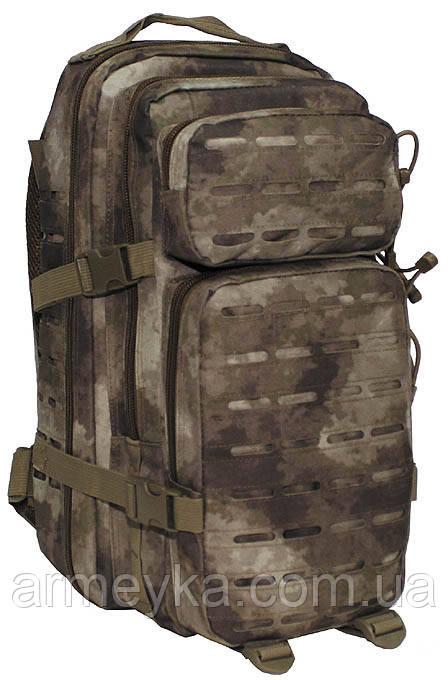 "Рюкзак USA  Assault I ""Laser"" 30L , HDT camo (A-tacs). MFH Германия."