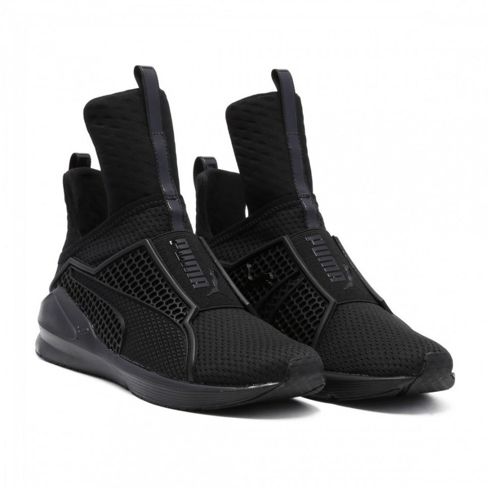 81a9d884f62f Кроссовки в стиле Rihanna x Puma Fenty Trainer Black женские