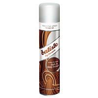 BATISTE Сухой шампунь для волос DARK&DEEP BROWN