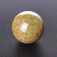 Шар сувенир Яшма Гелиотроп, диаметр 40мм