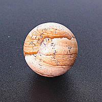 Шар сувенир Яшма Пейзажная, диаметр 37мм
