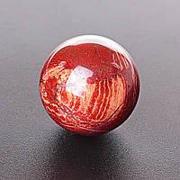 Шар яшма красная, диаметр 37мм