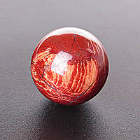 Шар сувенир Яшма красная, диаметр 37мм