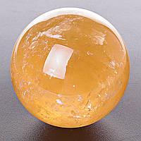 Шар сувенир Цитрин, диаметр 64-69мм