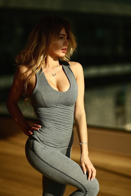 спортивный топ Pro Fitness Grey
