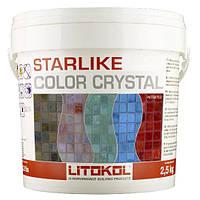Затирка эпоксидная Litokol Starlike(литокол старлайк)С.352-2,5кг для стеклянной мозаики(crystal)