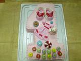 Детский торт на заказ на один годик, фото 2