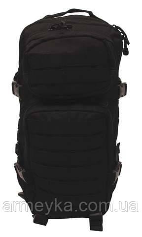 Рюкзак USA  Assault I 30L , black. MFH Германия.