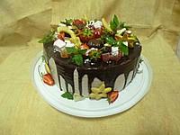 Торт в стилі Рустик