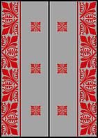 Рисунок на шкаф-купе национальный орнамент