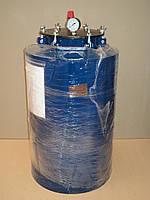 Автоклав для домашнего консервирования на 24 литровые банки (горловина 215 мм) усиленное крепление