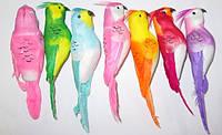Хохлатые попугаи искусственные