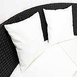 Лежак ліжко пляжна з ротанга, фото 5