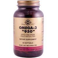 Тройная Омега-3 950 мг ЭПК и ДГК купить, цена, заказать, отзывы (Солгар)