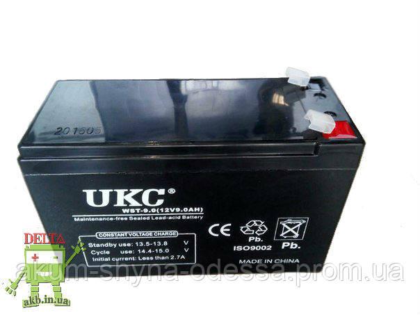 Аккумулятор UKC WST-9.0 (12V,9Ah)