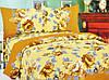Практичный комплект двуспального постельного белья бязь 1.8 4323 разноцветный