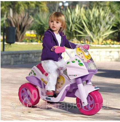 Электромобиль Мотоцикл Princess Peg Perego Iged0917