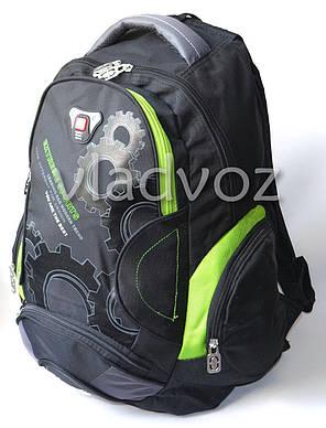 3fb11f3b97ce Школьный рюкзак для мальчиков extreme sports DFW салатовый с чёрным, фото 2