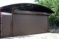 Ролетные ворота для гаражей Киев