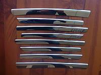 Накладки на переднюю решётку Opel Vivaro (2001-2006)