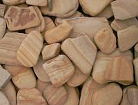 Камень Плитняк окатанный