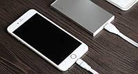 Дата кабель ROCK Lightning для Apple iPhone 6/6 plus / 5 / 5S / 5C / SE (Белый / White)