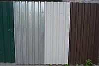 Профнастил на забор цена за лист,профнастил для забора, забор из профнастила