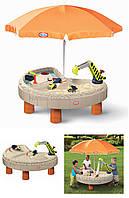 Детская Песочница Стол Веселая Стройка Little Tikes 401N, фото 1