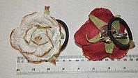 Резинки для волос с цветами (от 1 шт)