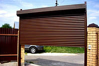 Рулонные ворота для гаража Киев